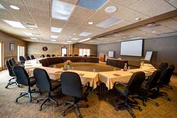 Conference room at Sugar Lake Lodge.