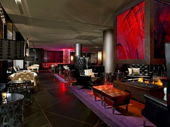 Lobby view at The W Hotel Minneapolis.
