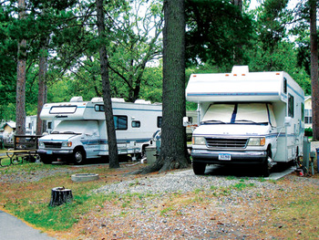 RV Park at Moonlight Bay Resort.