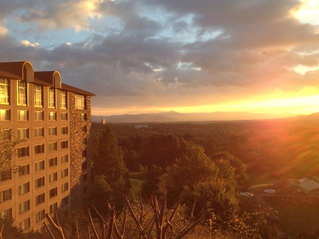 Exterior view of The Grove Park Inn Resort & Spa.