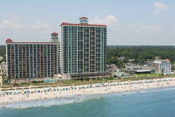Exterior view of Caribbean Resort & Villas.