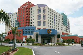 Exterior view of Miccosukee Resort.