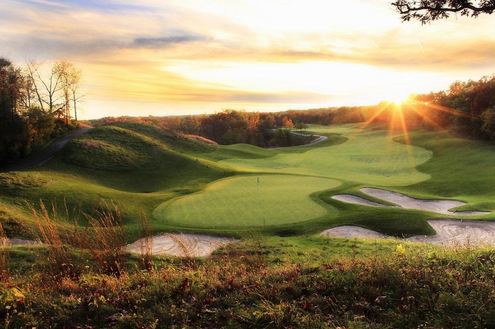 Golf course near The Cove of Lake Geneva.