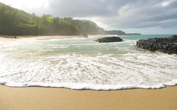 The beach at Kauai Calls!