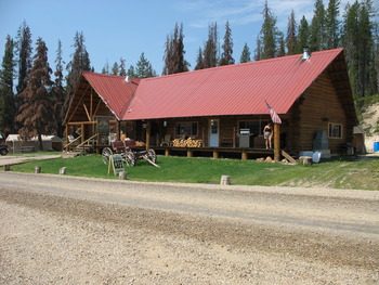 Exterior view of Silver Spur Outfitters.