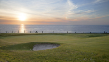 Newquay Golf Club near Fistral Beach - Cornwall.