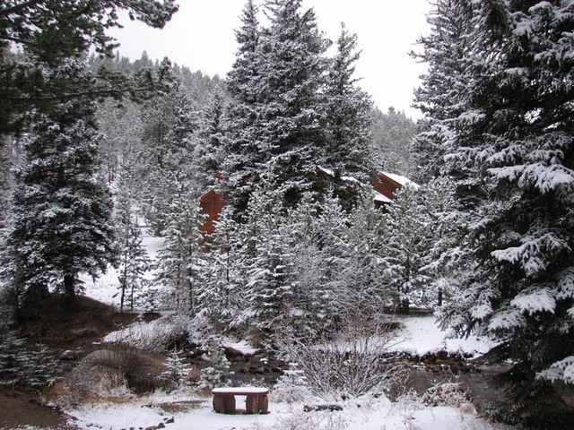 The Evergreens On Fall River Estes Park Co Resort