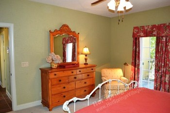 Bedroom at Hot Springs Village Rentals.