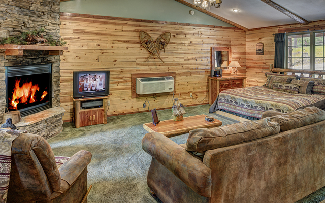 Lake forest luxury log cabins eureka springs ar for Cabine eureka ca