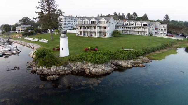 Exterior view of The Nonantum Resort.