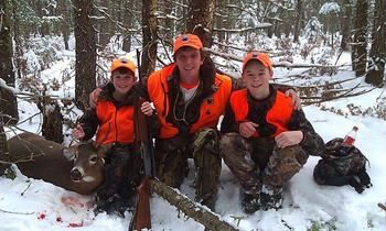 Hunting at Wilsons on Moosehead Lake