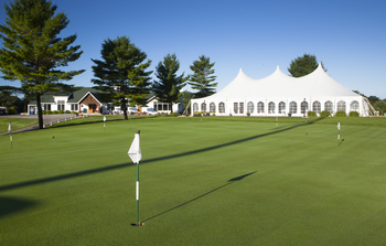 Wedding venue at Manistee National Golf & Resort.