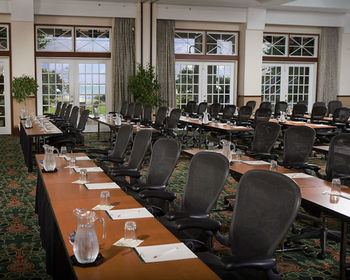 Conference room at Kingsmill Resort.