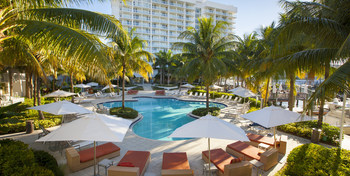 Outdoor pool at Fort Lauderdale Grande Hotel & Yacht Club.