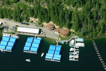 Exterior View of Blue Diamond Marina