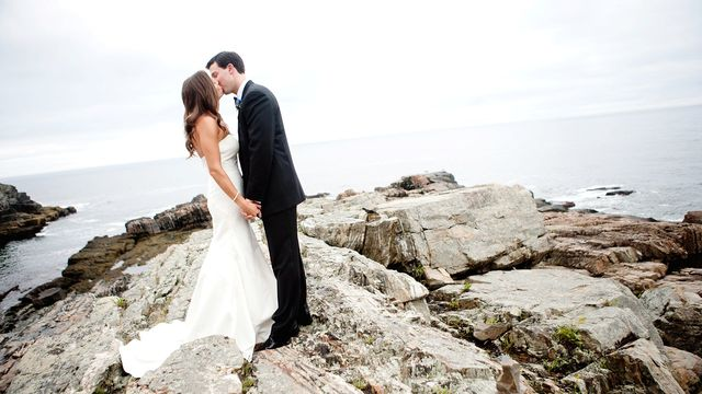Wedding at The Cliff House Resort & Spa.
