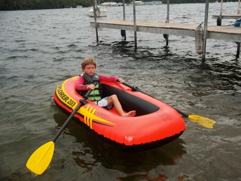 Lake fun at Contessa Resort.