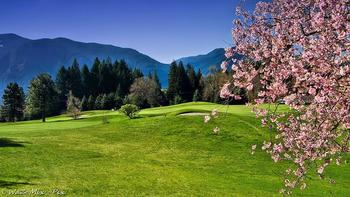 Golf course at Carson Hot Springs Spa.