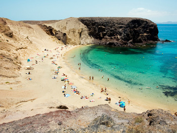 Beach near Playa Blanca.