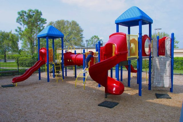 Children's playground at Rosen Inn at Pointe Orlando.