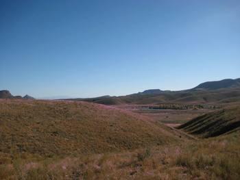 Mountains at Cibolo Creek Ranch.