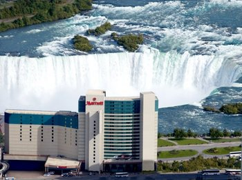 Welcome to the Marriott Niagara Falls Fallsview Hotel & Spa