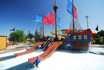 Outdoor Waterpark at Polynesian Waterpark Resort