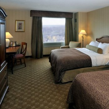 Guest Room at the Hilton Niagara Falls