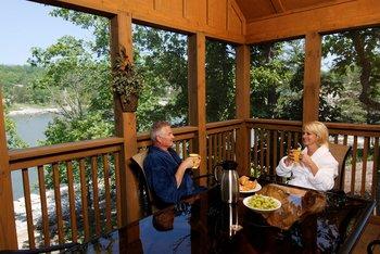 Balcony view at Stonebridge Resort.