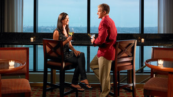 Romantic dining at Manchester Grand Hyatt San Diego.
