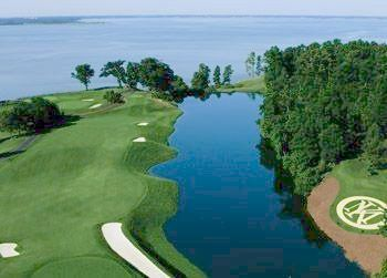 Aerial Golf View at Kingsmill Resort