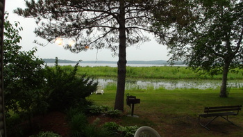 Lake view at Gull Lake Resort.