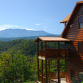 Exterior Cabin Rental at Timber Tops Rentals