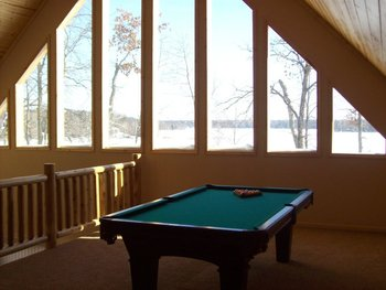 Villa recreation room at Wilderness Resort Villas.