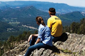 Scenic views at Colorado Trails Ranch.