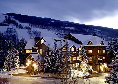 Exterior View of Vail Mountain Lodge