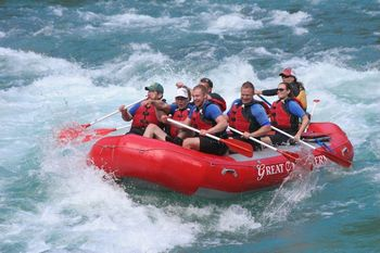White Water Rafting at Great Northern Resort