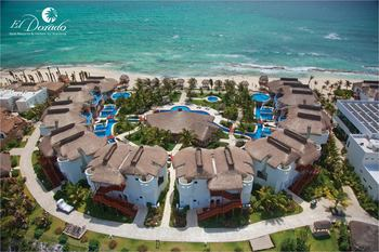 Aerial view of El Dorado Resort & Spa.