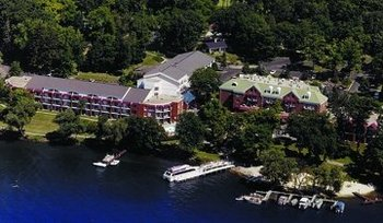 Aerial View of Heidel House Resort