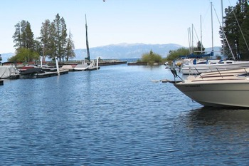 Lake view at Meeks Bay Resort & Marina.