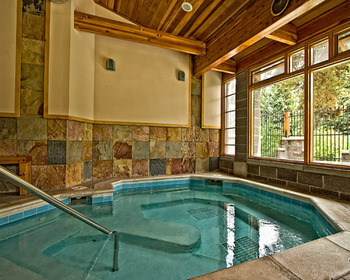 Indoor pool at The Lift.