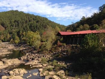Ocoee River Visitor's Center near Copperhead Lodge.