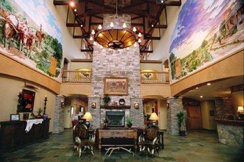 Lobby view at The Inn at Circle T.