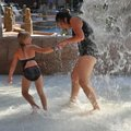 Family At Water Park at Split Rock Resort & Golf Club 