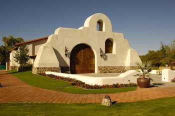 Wedding chapel at Tubac Golf Resort.