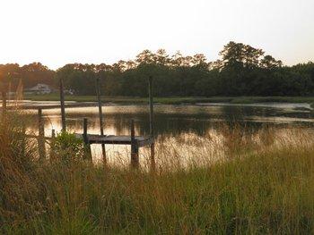 Scenic view at Brunswick Plantation Resort.