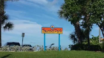 Sunset Park near Gulf Winds Resort Condominiums.