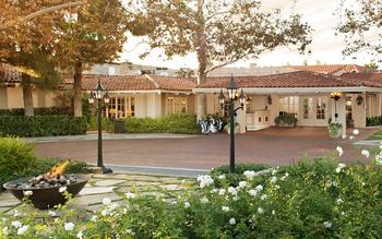 Exterior view of Rancho Bernardo Inn.