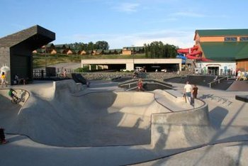 Skate Park at Three Bears Lodge