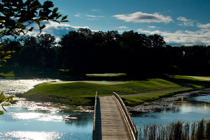 Golf course at Tullymore Golf Resort.
